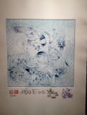Lithographie Alexone Galerie LeFeuvre Exposition Alacrite 2012