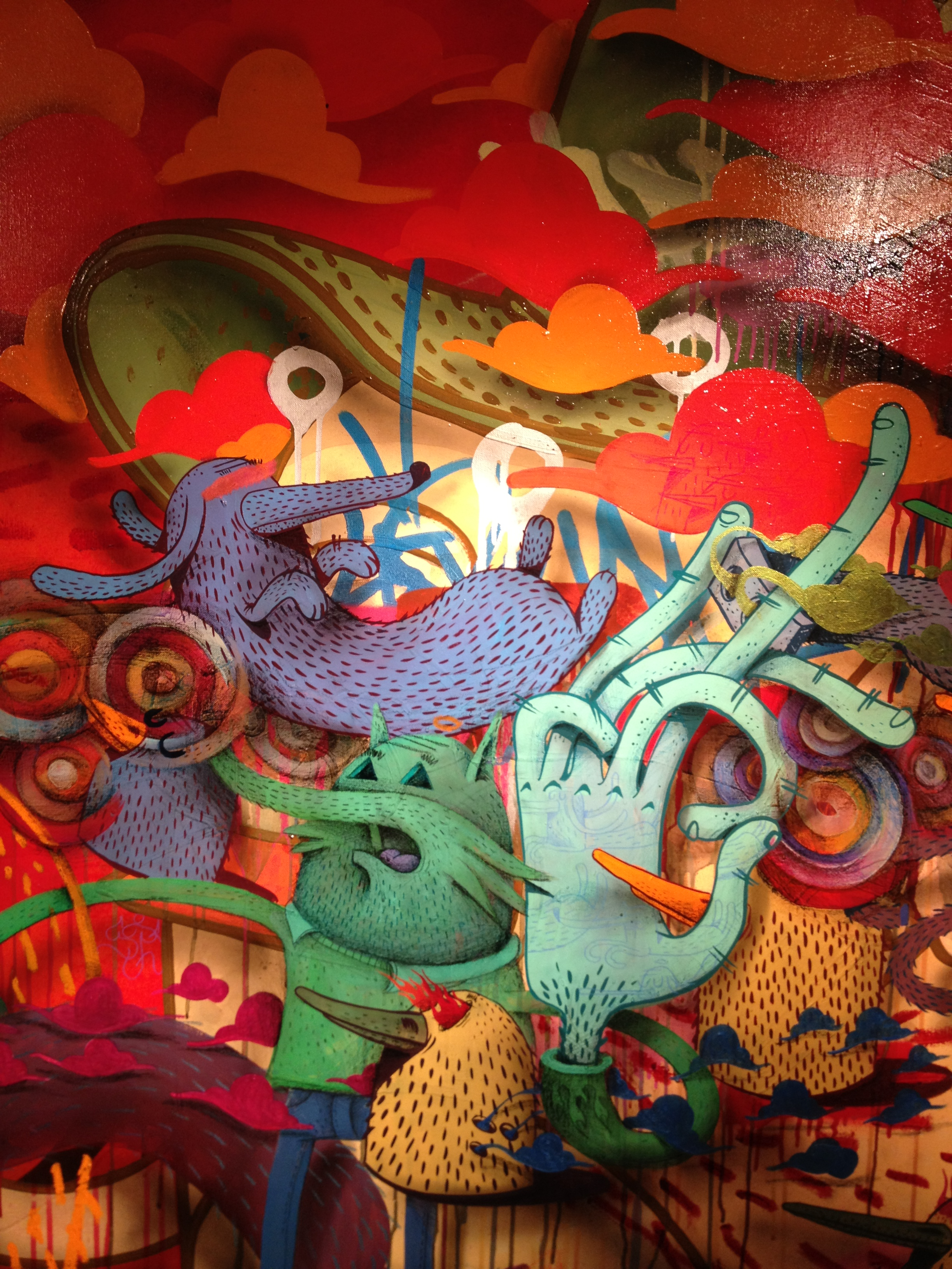 Alexone Dizac Exposition Galerie Le Feuvre 2012 Alacrité
