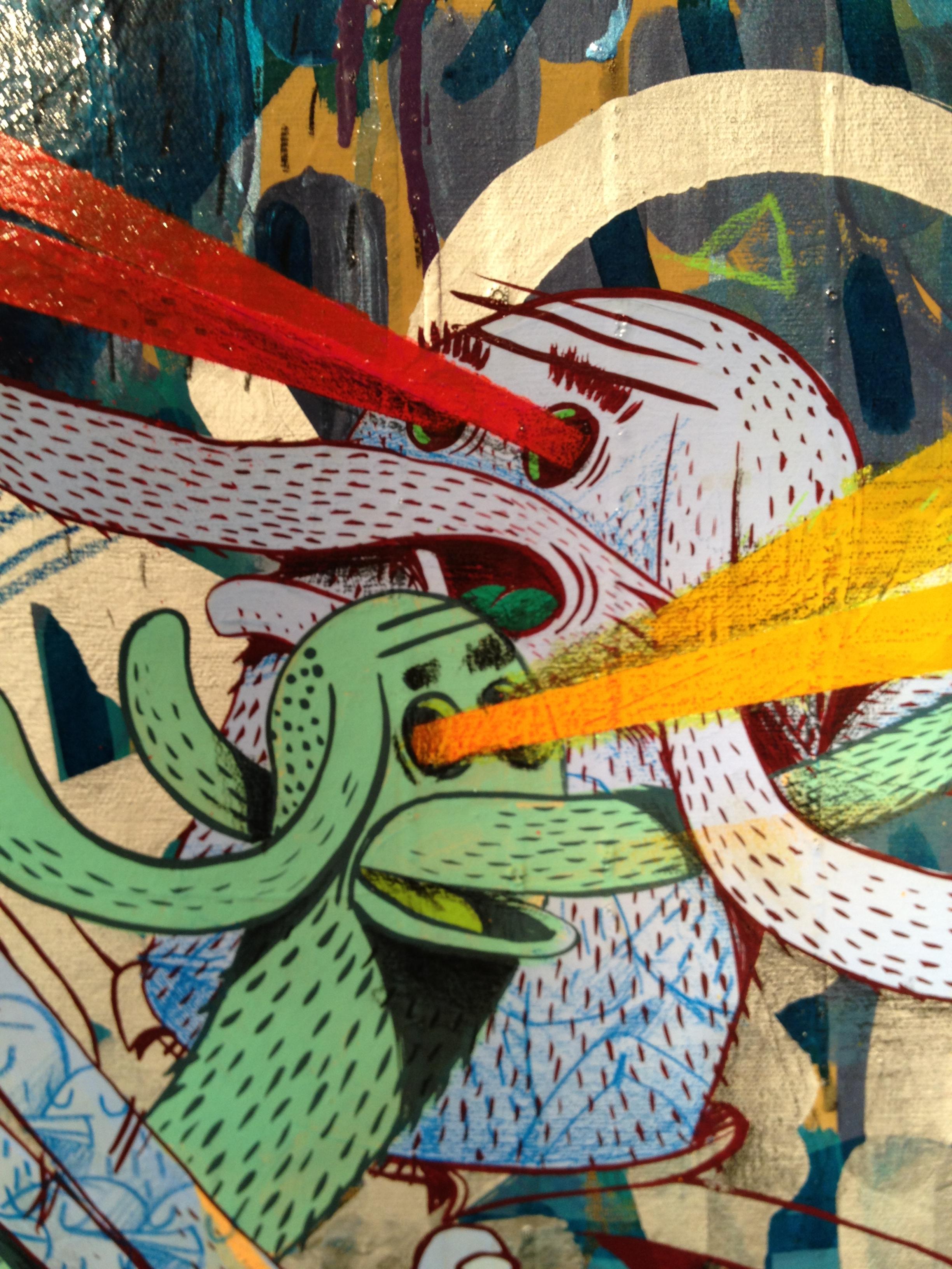 Alexone Galerie LeFeuvre Exposition Alacrité 2012