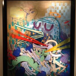 Toile Alexone Galerie LeFeuvre Exposition Alacrité