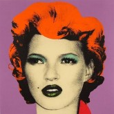Banksy - Kate Moss - 2005 Serigraphie - screenprint