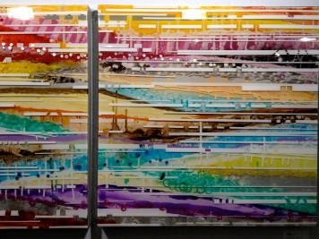 Tableau de Jacqueline Bozon 80x80cm