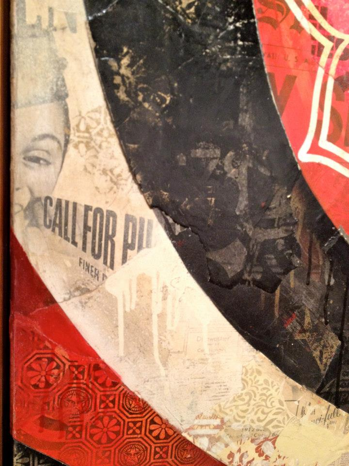 Shepard Fairey - Obey - New Art Fair Paris - Collection Privée de Nicolas Laugero Lasserre