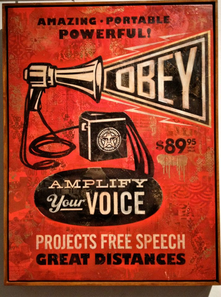 Shepard Fairey - Obey - New Art Fair Paris