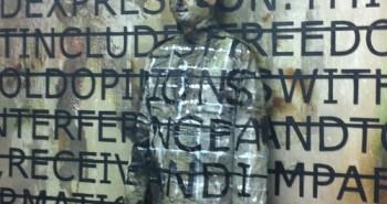 Performance Liu Bolin X Rero @ Blackslash Gallery - VALDAN©2012–2013