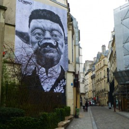 Combo Street Art Paris Monsieur Yoda