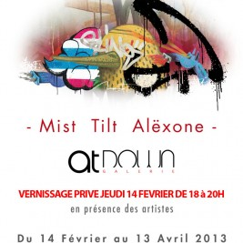 Exposition Mist Tilt Alexone - Galerie At Down