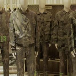 Liu Bolin X Valentino - Camouflage Magasin