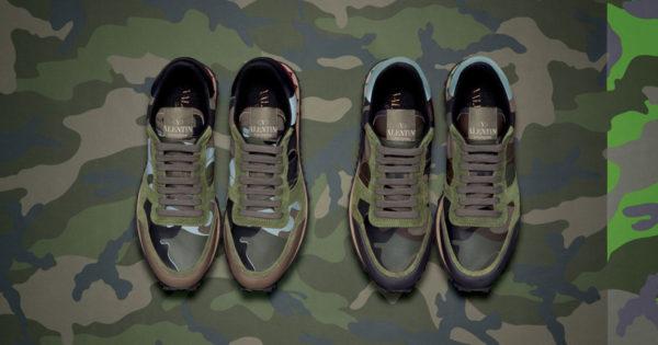Liu Bolin X Valentino-Sneakers 2013
