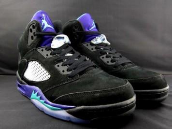 Air Jordan 5 Black Grape 2013