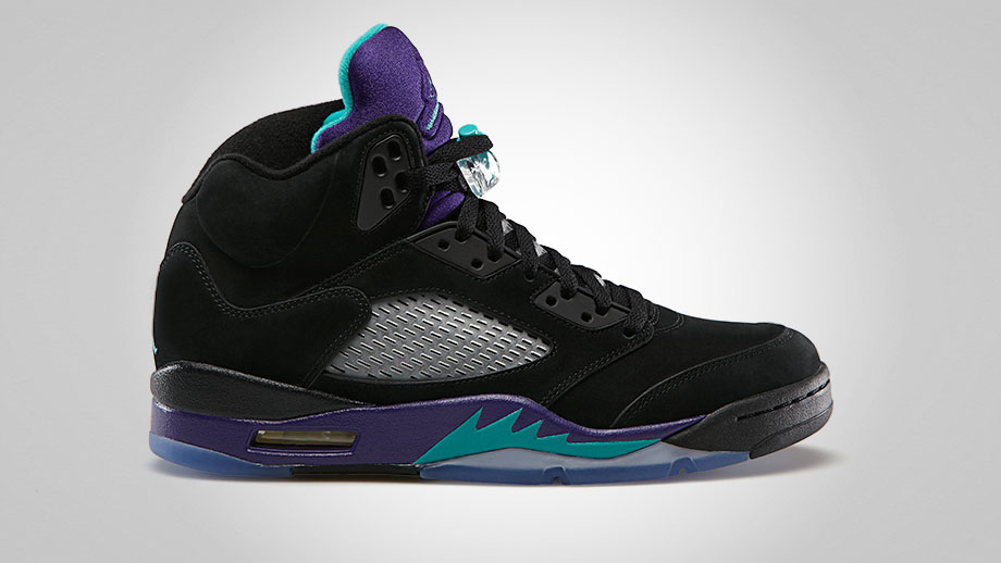 Air Jordan 5 Black Grape 2013