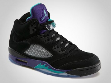 "Air Jordan 5 ""Black Grape"" 2013"