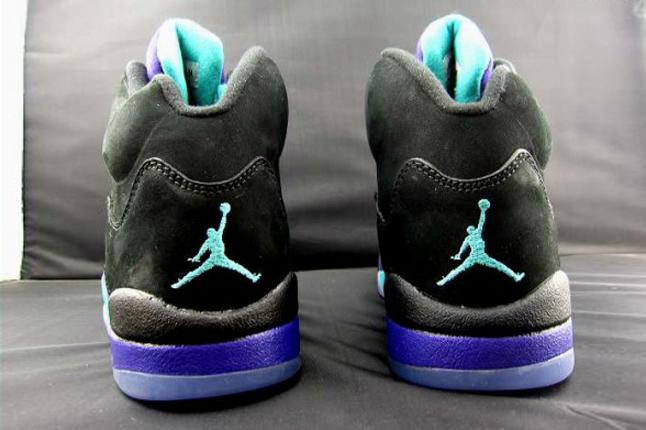 Air Jordan V Black Aqua 2013