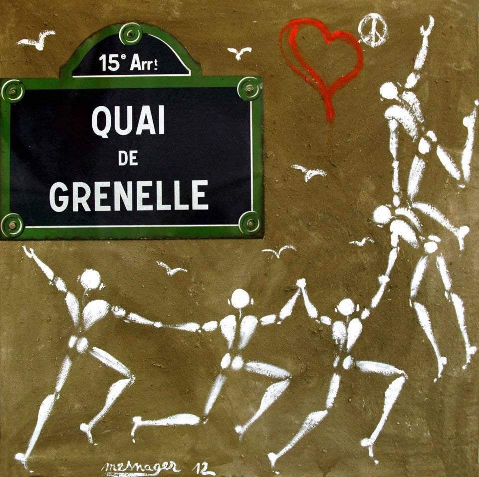 Exposition Jérôme Mesnager Galerie Art Jingle 2013 quai de grenelle