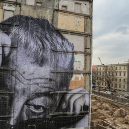 JR Artist - The Wrinkles of the city takes over berlin