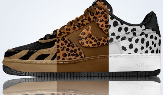 Nike Air Force 1 Low Premium ID Animal Print avril 2013