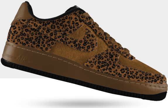 Nike Air Force 1 Low Premium ID sauvage edition Leopard