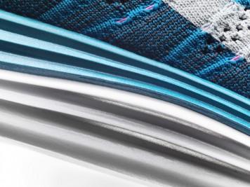 Nike Flyknit Lunar 1+ blue 2013