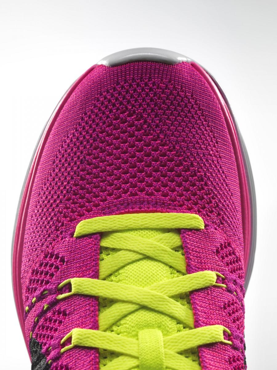 Nike Flyknit Lunar 1+rose fushia 2013