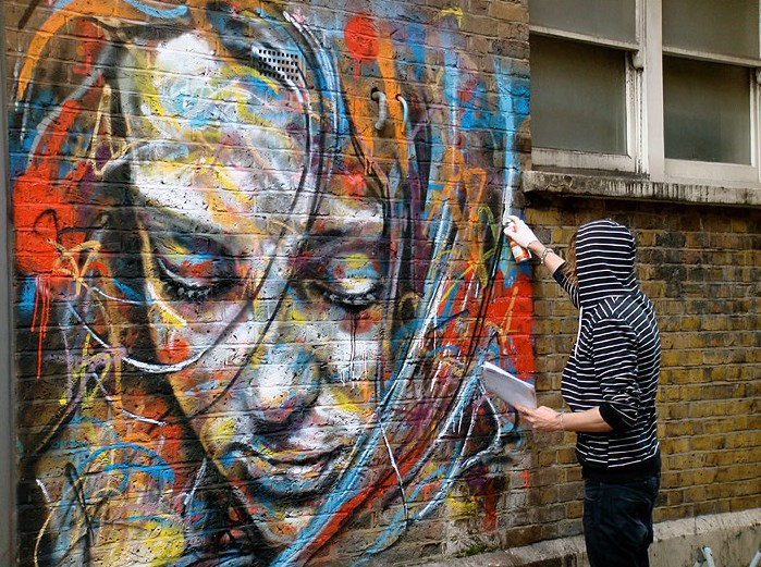 David Walker Graffiti