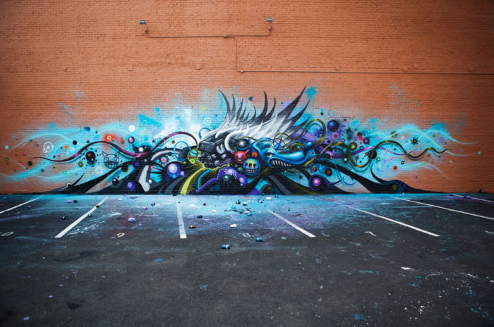 Jeff Soto X Chevrolet Sonic - Street Art Graffiti