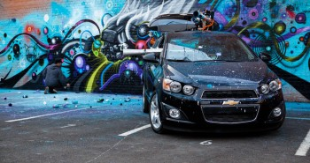 Jeff Soto X Chevrolet Sonic - Street Art Project 2013