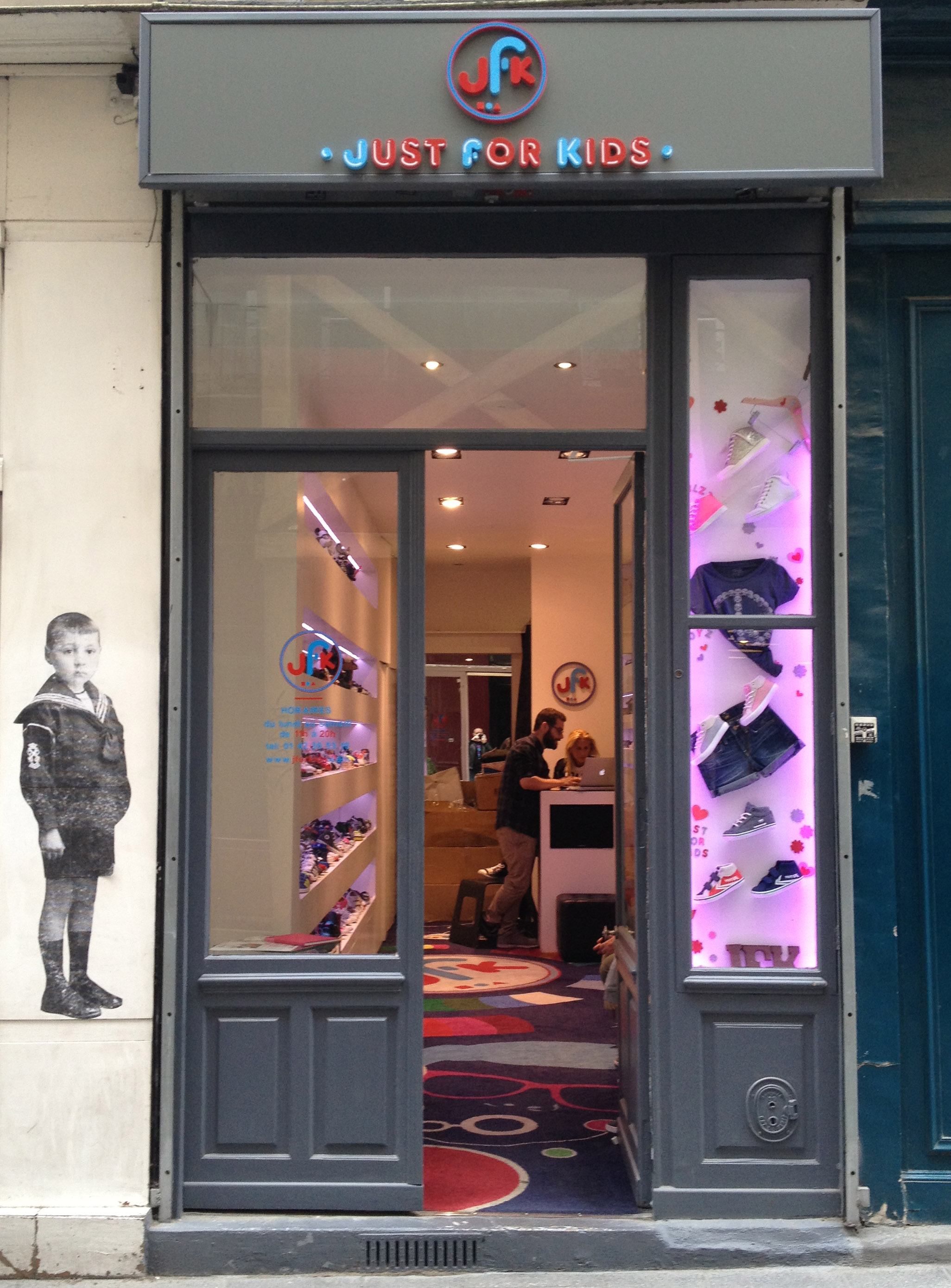 Magasin JFK Just For Kids Paris