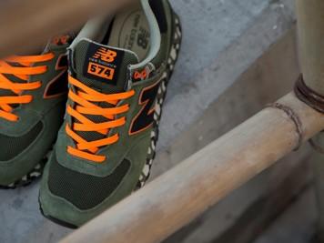 New Balance 574 CGR Camo Orange-2