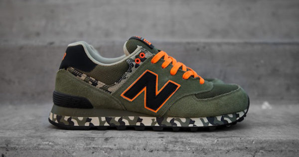 New Balance 574 CGR Camo Orange