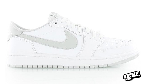Air Jordan 1 Retro Low OG White Neutral Grey