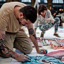 Volvo Art Session: Koralie et Supakitch
