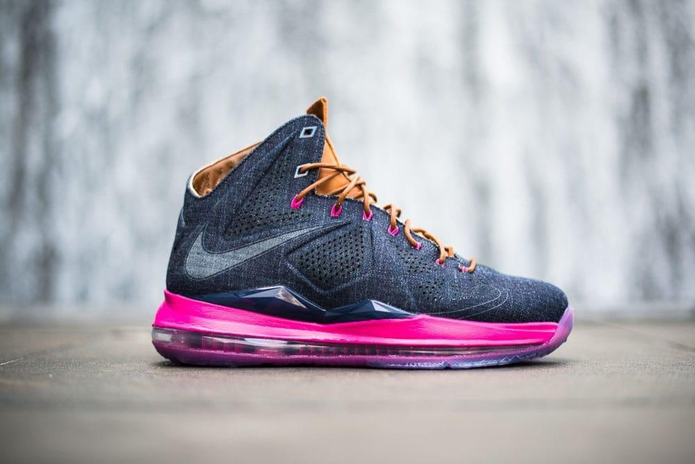Nike LeBron X Denim QS