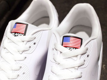 613841-610 nike air max 90 independance day usa 2013 White