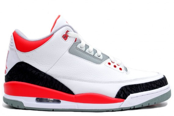 Air Jordan 3 Fire Red 2007