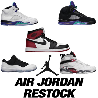 Air Jordan Restcok