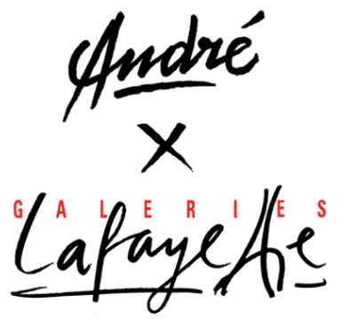 Andre X Galerie Lafayette