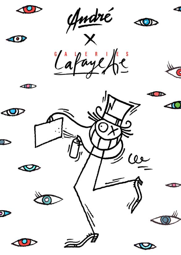 Andre X Galerie Lafayette