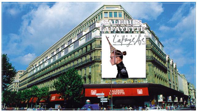 Galeries Lafayette Boulevard Haussmann Paris