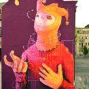 INTI New Mural In Kosice, Slovakia