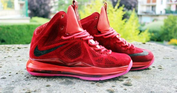 Lebron X EXT Red Suede - RudBoy - image 2