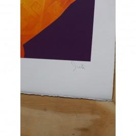 Lithographie Inti - Pagano