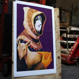 Lithographie Inti - Pagano - print them all
