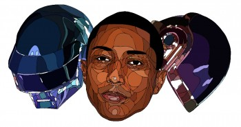 Shaz-Art-Daft-Punk-Pharrel-Wiliams-Illustration
