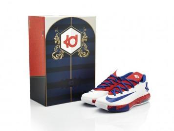Box Nike KD VI iD Paris