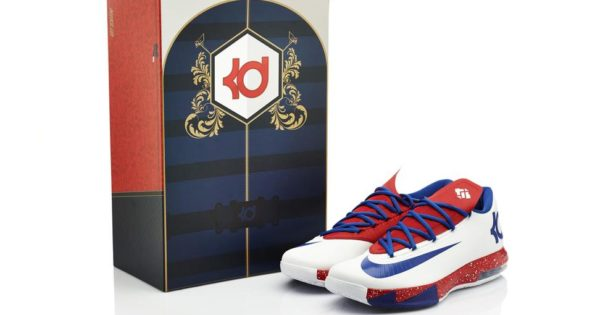 Box Nike KD VI iD Paris