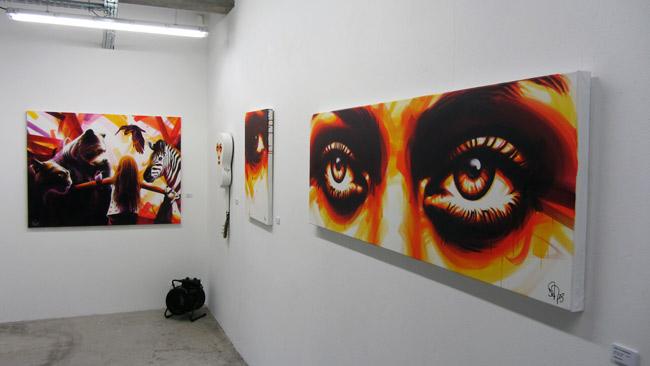 Galerie Mathgoth à Paris - Exposition Dan23