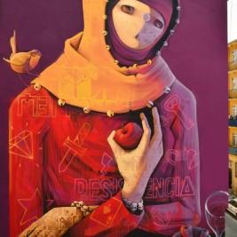 INTI Mural Istambul Turkey 2013