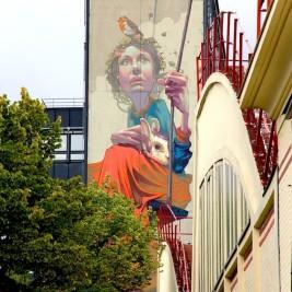 Mur Sainer Street Art Paris 13