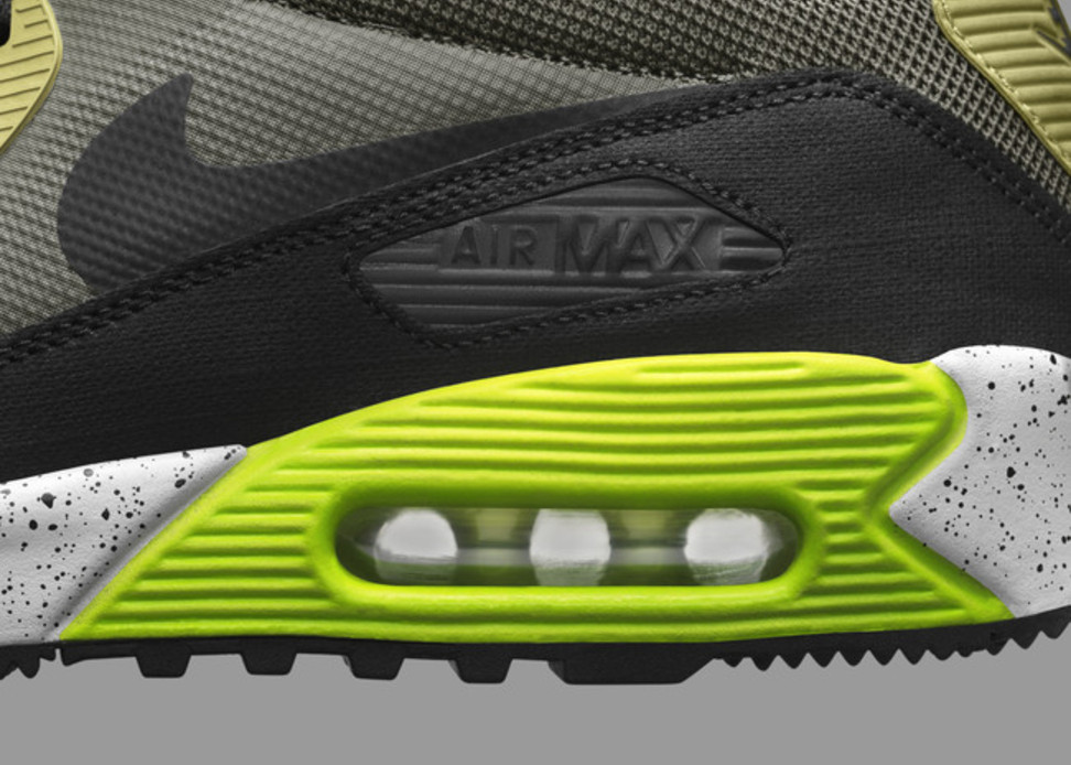 Nike Air Max 90 SneakerBoot detail