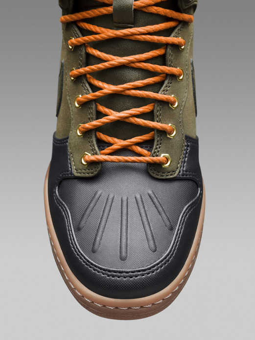Nike Dunk Sky Hi SneakerBoot detail